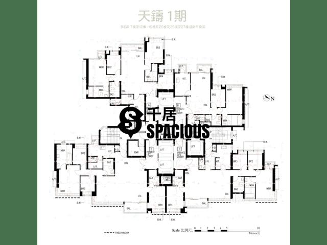 何文田 - 天鑄 平面圖 36