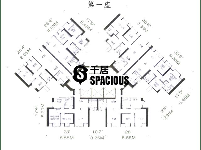 鲗鱼涌 - 康蕙花园 平面图 02