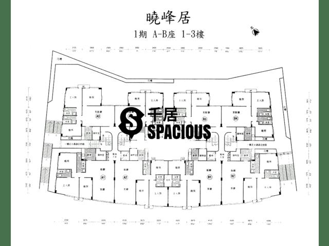 荔枝角 - 晓峰居 平面图 02