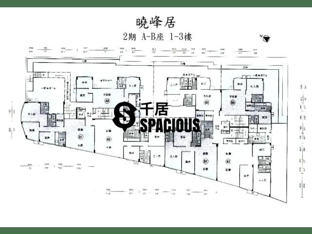 荔枝角 - 晓峰居 平面图 01