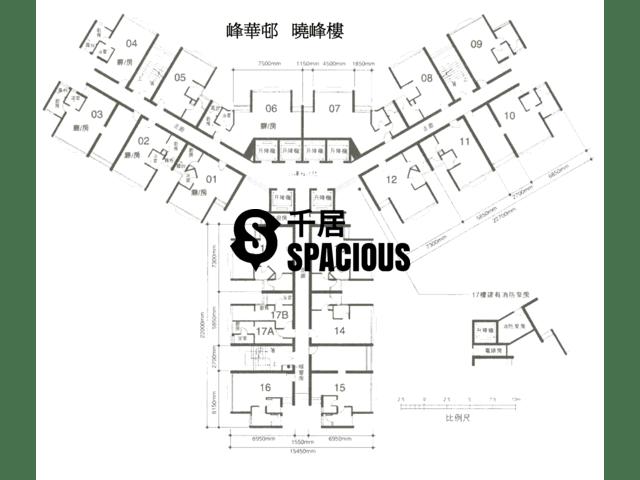 Chai Wan - FUNG WAH ESTATE Hiu Fung House Floor Plan 02