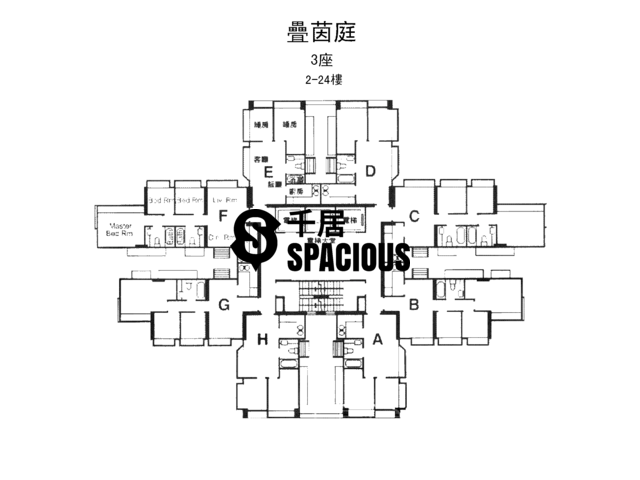 屯门 - 叠茵庭 平面图 09