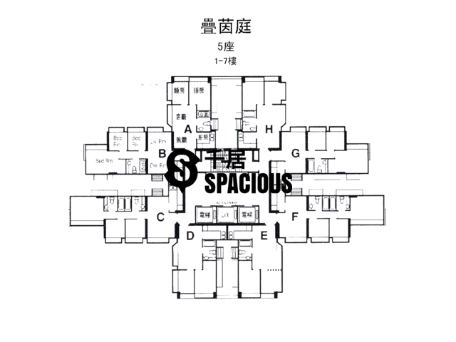 屯门 - 叠茵庭 平面图 10