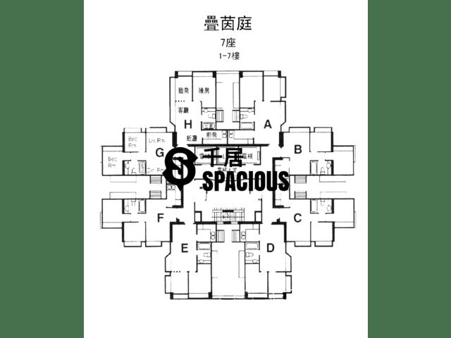 屯门 - 叠茵庭 平面图 06