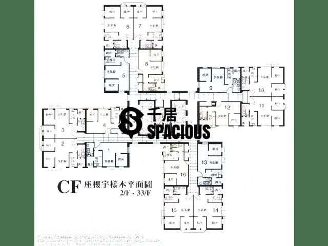 钻石山 - 龙蟠苑 平面图 03