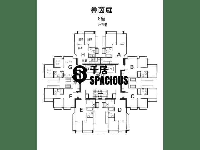 屯门 - 叠茵庭 平面图 05