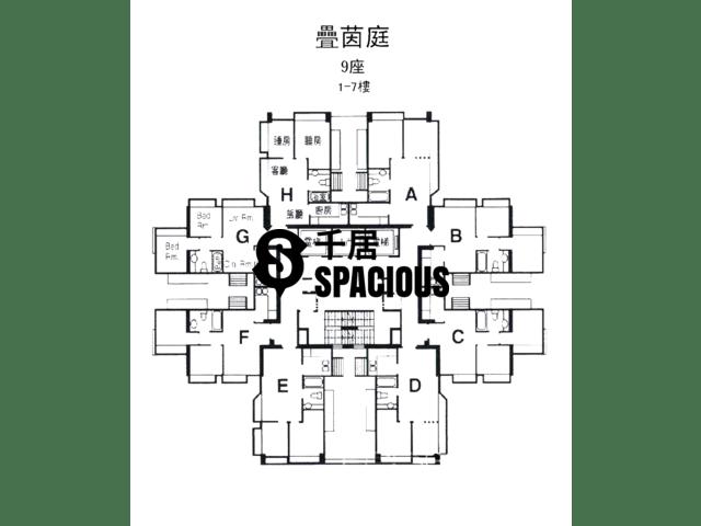 屯门 - 叠茵庭 平面图 07