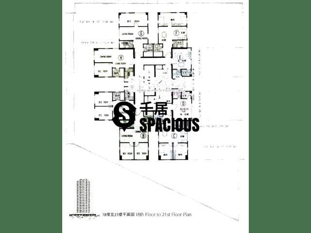 鲗鱼涌 - 滨海大厦 平面图 01