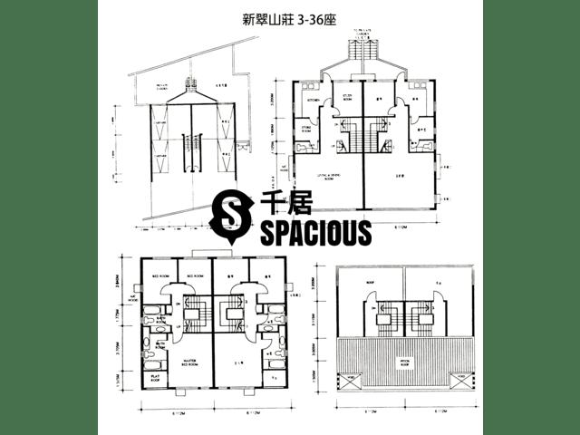 Tai Po Kau - Villa Castell House Floor Plan 03