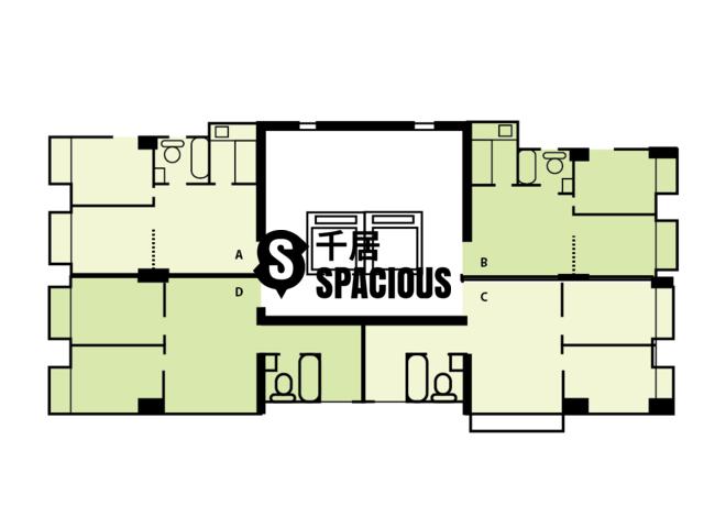 Yau Ma Tei - Arts Mansion Floor Plan 01