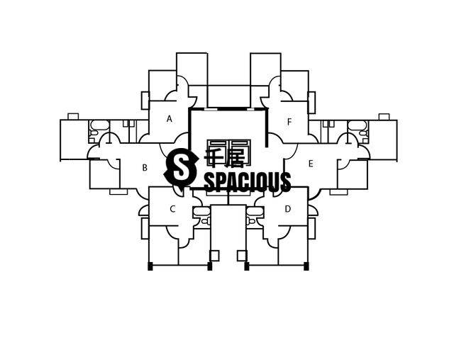 太子 - 丽明大厦 平面图 01