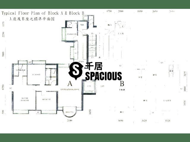 Yau Kom Tau - Golden Villa Floor Plan 02