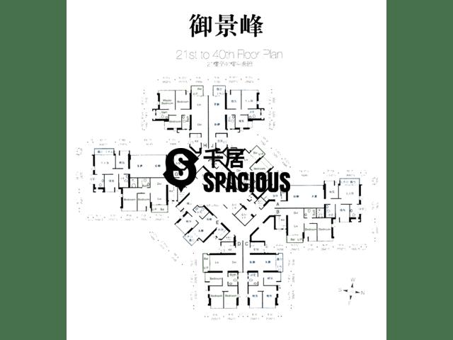 Sheung Shui - 8 ROYAL GREEN Floor Plan 06
