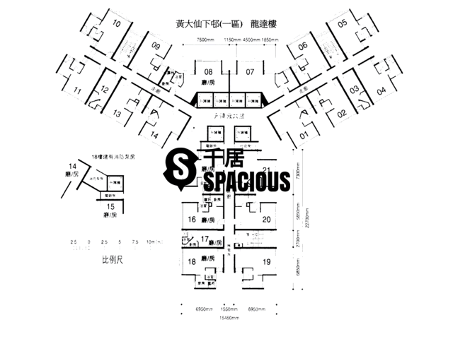 Wong Tai Sin - Lower Wong Tai Sin 1 Estate Floor Plan 02