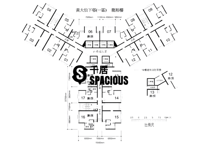 Wong Tai Sin - Lower Wong Tai Sin 1 Estate Floor Plan 03