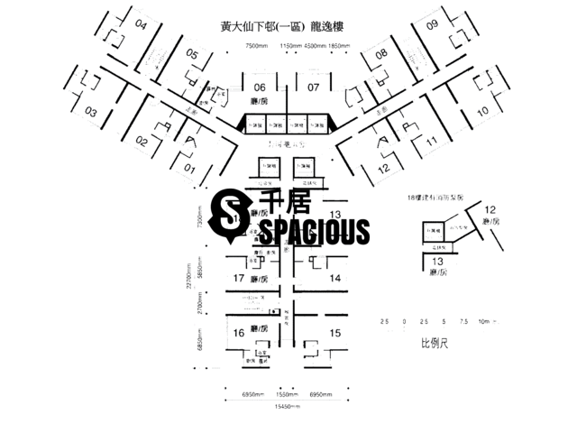 Wong Tai Sin - Lower Wong Tai Sin 1 Estate Floor Plan 01