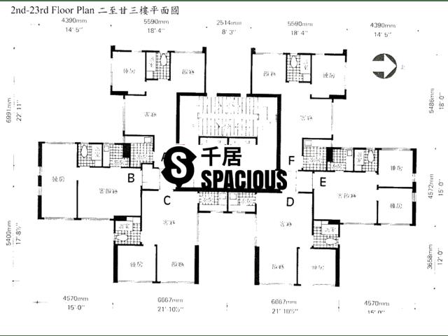 Yuen Long - LUCKY MANSION Floor Plan 02