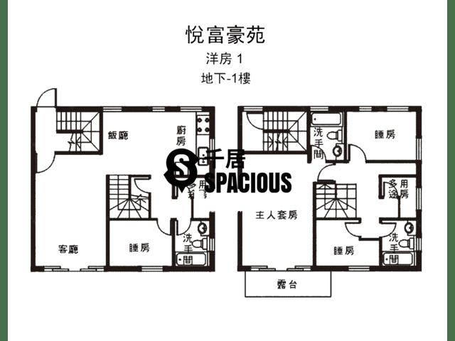 南生围 - 悦富豪苑 平面图 02