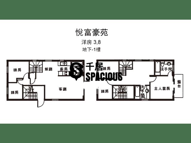 南生围 - 悦富豪苑 平面图 35
