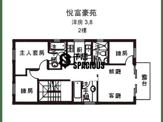 南生围 - 悦富豪苑 平面图 18