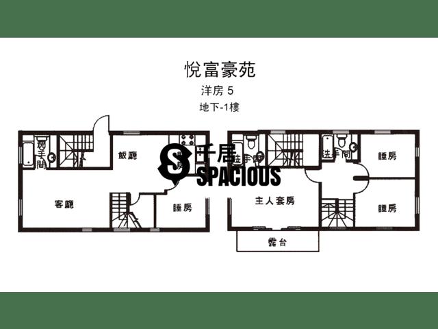 南生围 - 悦富豪苑 平面图 16