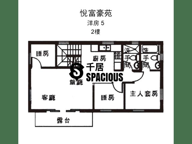 南生围 - 悦富豪苑 平面图 13