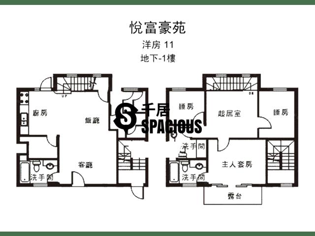 南生围 - 悦富豪苑 平面图 28