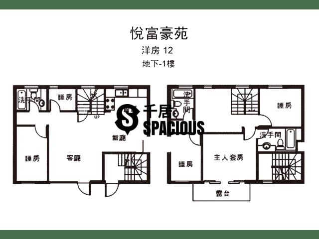 南生围 - 悦富豪苑 平面图 27