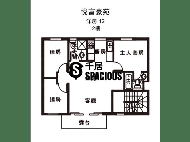 南生围 - 悦富豪苑 平面图 09