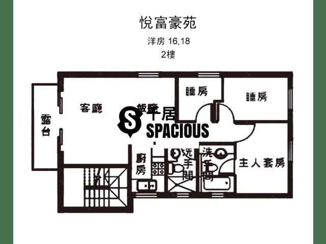 南生围 - 悦富豪苑 平面图 34