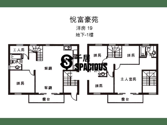 南生围 - 悦富豪苑 平面图 15