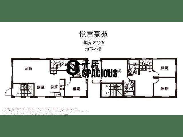 南生围 - 悦富豪苑 平面图 22