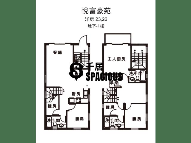 南生围 - 悦富豪苑 平面图 20