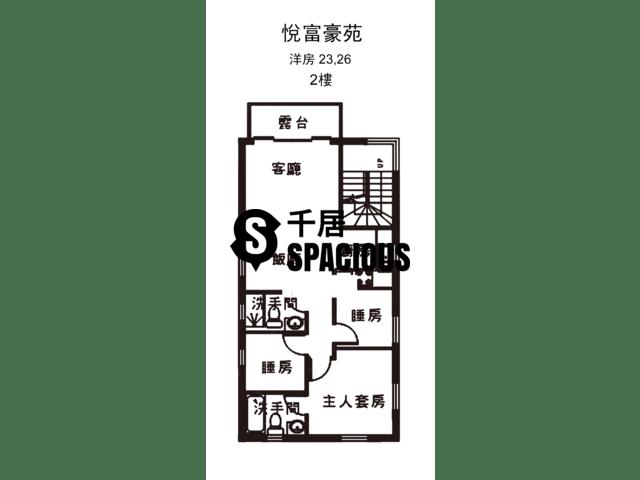 南生围 - 悦富豪苑 平面图 19