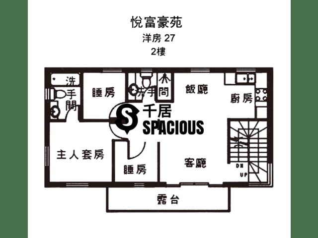 南生围 - 悦富豪苑 平面图 33
