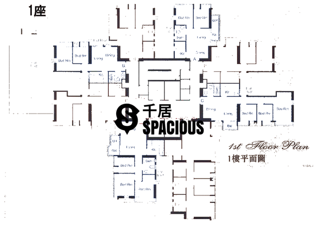 Sheung Shui - ROYAL GREEN Floor Plan 01