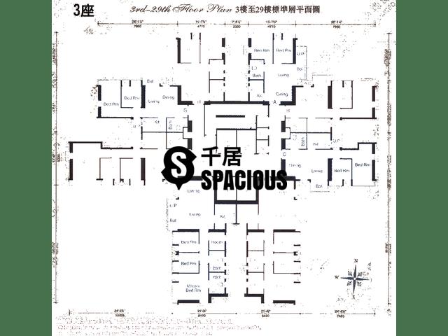 Sheung Shui - ROYAL GREEN Floor Plan 11