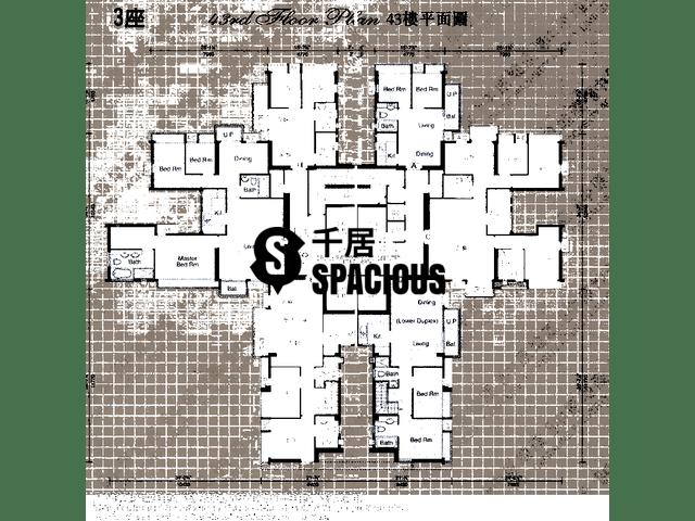 Sheung Shui - ROYAL GREEN Floor Plan 14