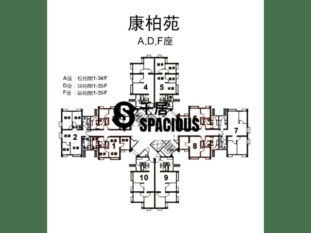 Lam Tin - Hong Pak Court Floor Plan 02