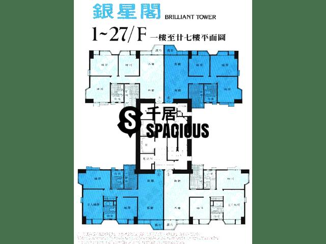 Sha Tin - SHATIN PLAZA Floor Plan 02