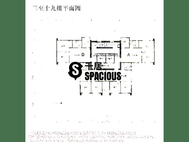 Sai Wan Ho - Wing Hing Court Floor Plan 01