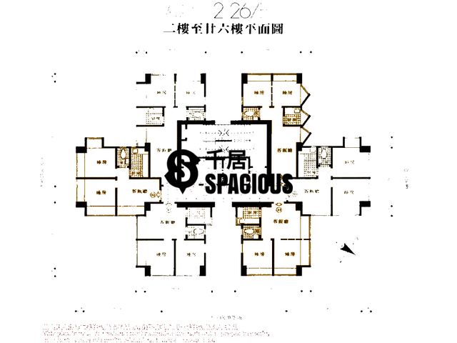 Cheung Sha Wan - Wing Ning Building Floor Plan 01