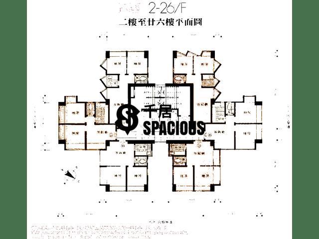 Cheung Sha Wan - Wing Ning Building Floor Plan 02
