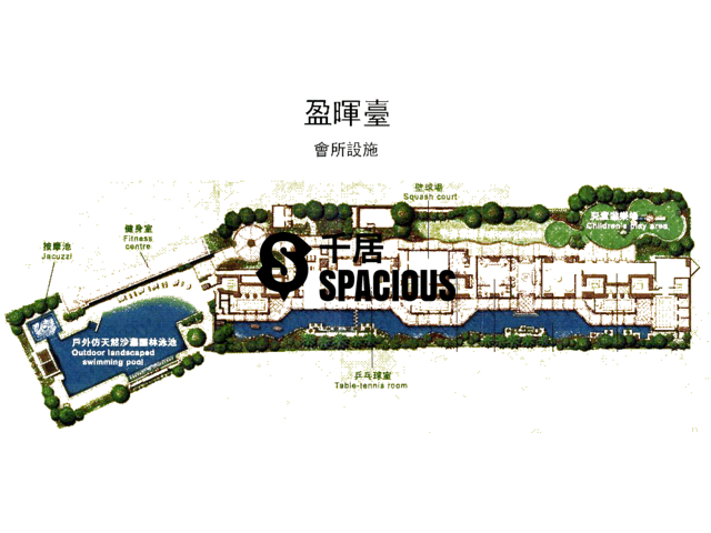 荔枝角 - 盈晖台 平面图 02