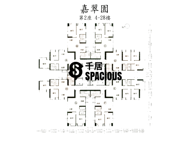 Kwai Chung - GREENKNOLL COURT Floor Plan 01