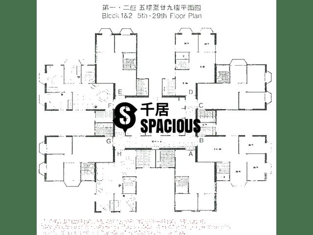 Kwai Chung - KWAI FONG TERRACE Floor Plan 01