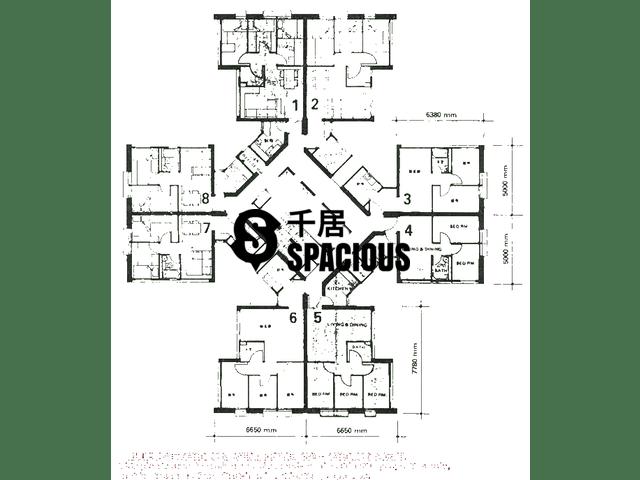 Ngau Tau Kok - On Kay Court Floor Plan 02