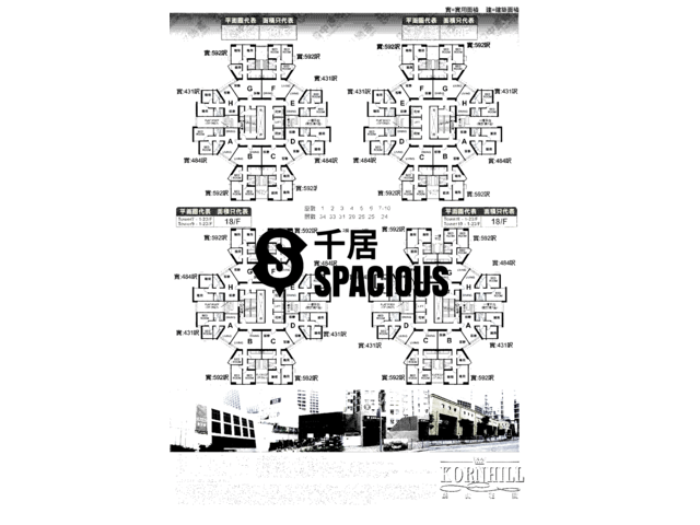 Tai Koo Shing - Kornhill Garden Floor Plan 04