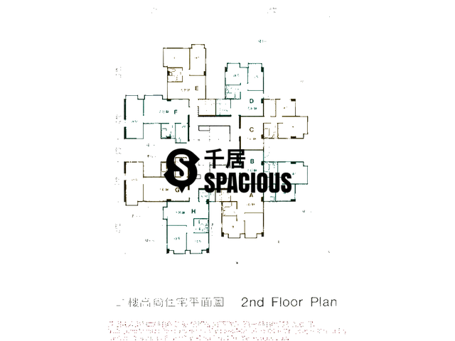 Hung Hom - Bowie Mansion Floor Plan 01