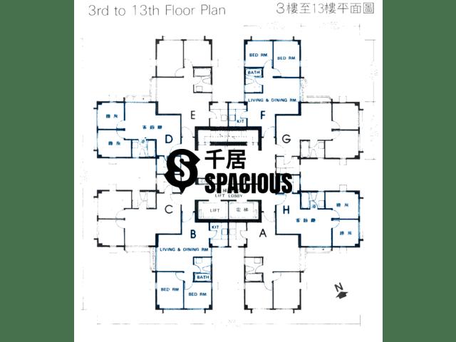 屯门 - 富华大厦 平面图 01